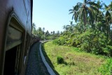 En route from Matara to Galle