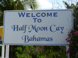 Welcome to Half Moon Cay!