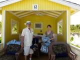 Bryan & Linda settle in