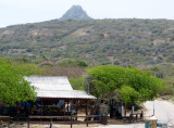 The visitor center at Shete Boka National Park