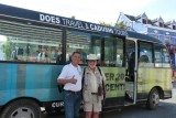 Henry  & Jim with the bus - what a great tour!