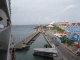 Coming into the port of Willemstad, Curacao