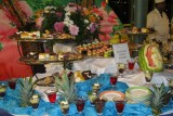 The Pool party - fabulous desserts offered!