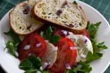 Arugula, Tomato and Lemon Cucumber Salad