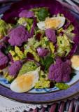 Purple Cauliflower Salad with French Vinaigrette