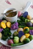 Bagna Cauda Dip with Assorted Vegetables