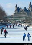 Canal Rideau - Rideau Canal, Ottawa Mars 2007