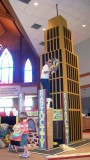 ...2011 Bible School Displays in Church Lobby and Stage...
