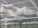 Oakland International Airport Window Reflection