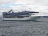Golden Princess Departing Seattle