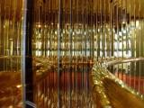 Glitzy Mirrors on the MS Westerdam