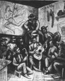 Guitar concert at Puerto Lumbreras. Author's collection.
