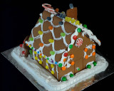 GINGERBREAD HOUSE - REAR VIEW