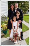 Large DOF Family Portrait of Best Man and Family
