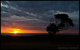 Sunset over KI