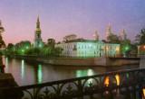 St. Petersburg.  st nicholas cathedral