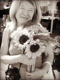 Sue With Sunflowers