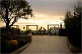 Santa Monica Sunset Silhouettes