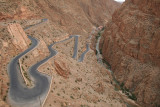 Windy road in Dades gourge