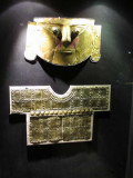 Gold funeral items