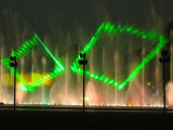 Laser show at Fountains of Lima