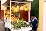 One of many street vendors