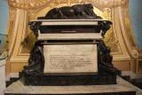 Pizarro's tomb in the Basilica