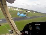 Beating up the aerodrome at Anahuac