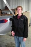 Robert at the Hangar
