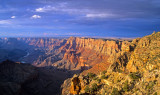 East rim of Grand Canyon from Desert View, Grand Canyon National Park, AZ