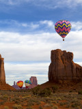 Second Annual, Monument Valley Balloon Festival, February, 2012, AZ/UT