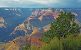Rim Trail viewpoint, Grand Canyon National Park, AZ