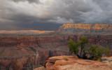 Approaching storm, Grand Canyon National Park, AZ