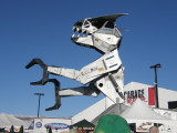 Barrett Jackson Auction Greeter (Robosaurus)