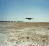 C-5B Landing at King Khalid Military City