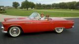 1955 Thunderbird with a lot of history