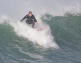 Surfing Morro Rock, January 2008