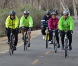 People on The Bike Path