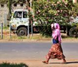 Camera shy Lady in Bahir Dar