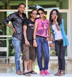 Four friends in Bahir Dar