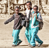 Cheeky Boys in Bahir Dar