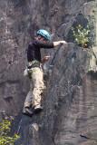 Climbers in Vivian Quarry, Llanberis - during ZPS Meet- 2011