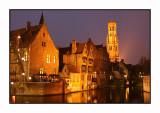 Bruges, all dressed up for Christmas