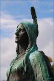 Portrait Pocahontas.