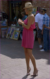 .Candid of the Lovely Lady in Pink / Her beauty will be revealed later in this gallery,.