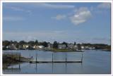 New Hampshire boat yard  shore line scene