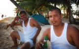Dudes on the beach