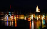 Blurry night - Korcula