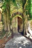 78-St Edward's church, north door, Stow.