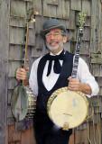 Gordy Ohliger, the Banjo-ologist,near Chico, April 30, 2011